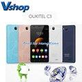 Оригинал OUKITEL С3 Android 6.0 3 Г WCDMA Смартфон 5.0 дюймов RAM 1 ГБ ROM 8 ГБ Dual SIM MTK6580 Quad Core 1.3 ГГц Телефон GPS WI-FI