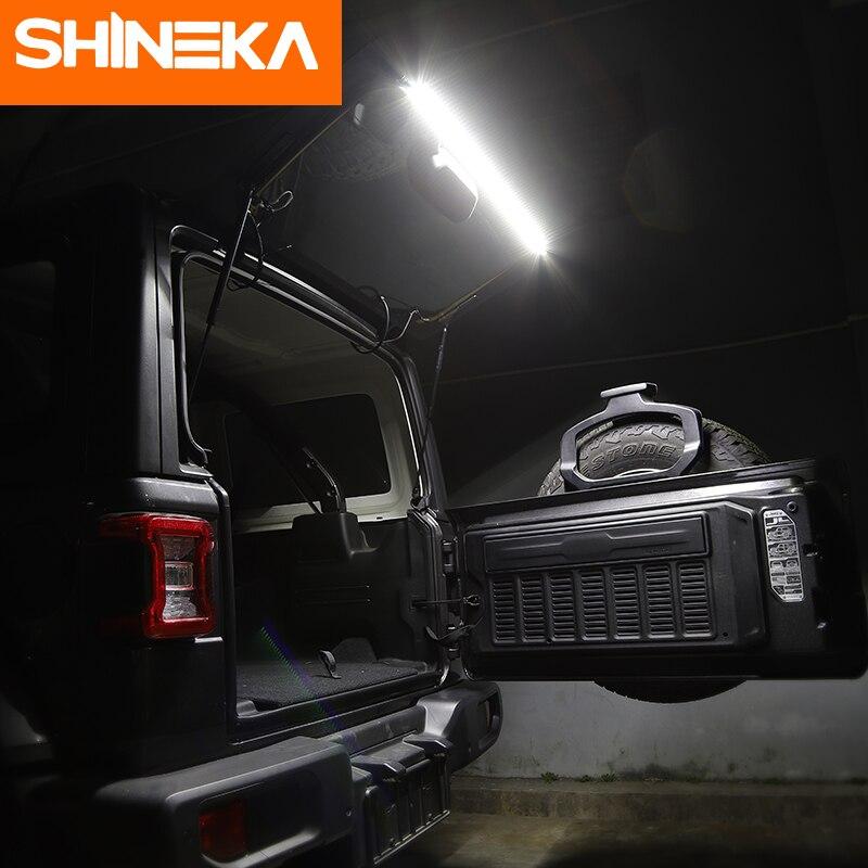 SHINEKA pour Jeep Wrangler TJ JK JL 1997-2018 feux de coffre feux arrière feux arrière lampe à LED pour Jeep Wrangler TJ JK JL