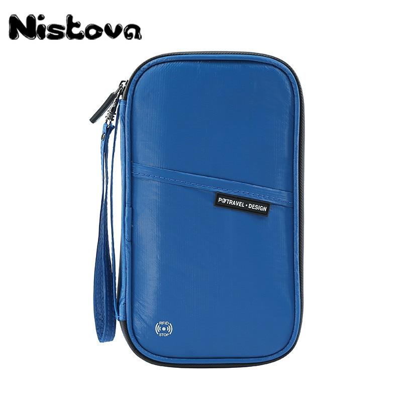 Tyvek Waterproof Travel Passport Package RFID Blocking Wallet Holder Family Document Organizer Bag MultiCard Storage Pack Clutch