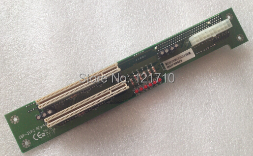 Industrial equipment board PICMG CBP-3VP2 REV:A0 3-Slot 1*CPU+2*PCI industrial equipment workstation network card 3c509b tp 03 0021 210 rev a