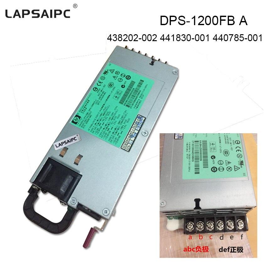 10pcs/Lot 1200W PSU Server power supply DPS-1200FB A 438202-001 HSTNS-PD11 438202-002 441830-001 440785-001 power DL580G5 free s original xw9300 server power supply dps 750cb a 377788 001 372357 003