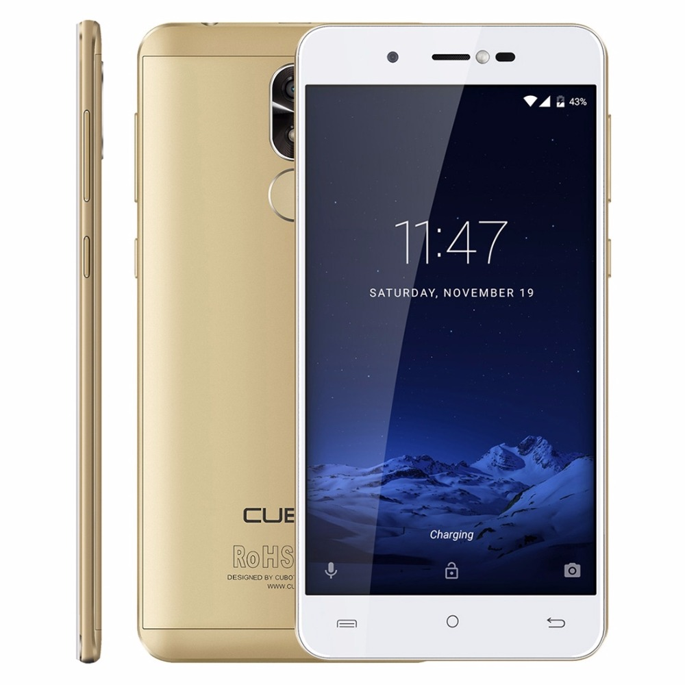 Original CUBOT R9 Android 7 0 Smartphone 5 0 HD MTK6580 Quad Core 2GB RAM 16GB