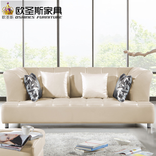 Barcelona Silver Modern Cow Leather Sofa Set Designs And Prices New 2018 115a
