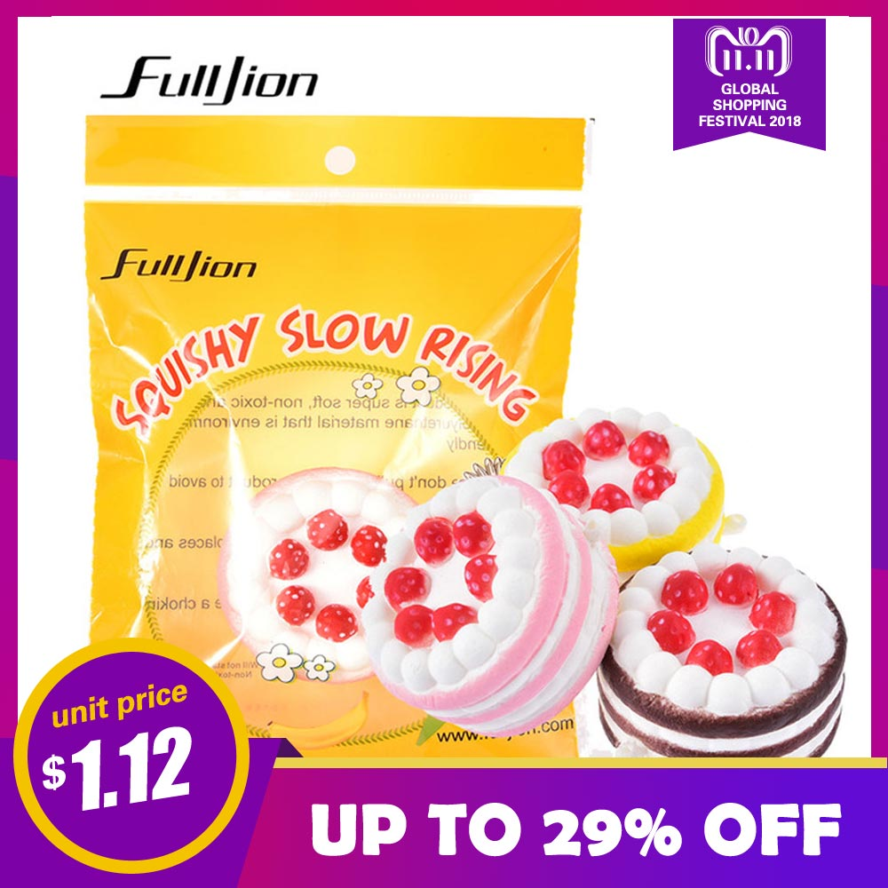 Fulljion Fun Squishy Cake Antistress Squishe Novelty Gag Toys Stress Relief Toys For Children Popular Squeeze Surprise Gifts oyuncak antistress squishy fun cake funny squishe novelty gag toys stress relief toys for popular practical jokes squeeze gifts