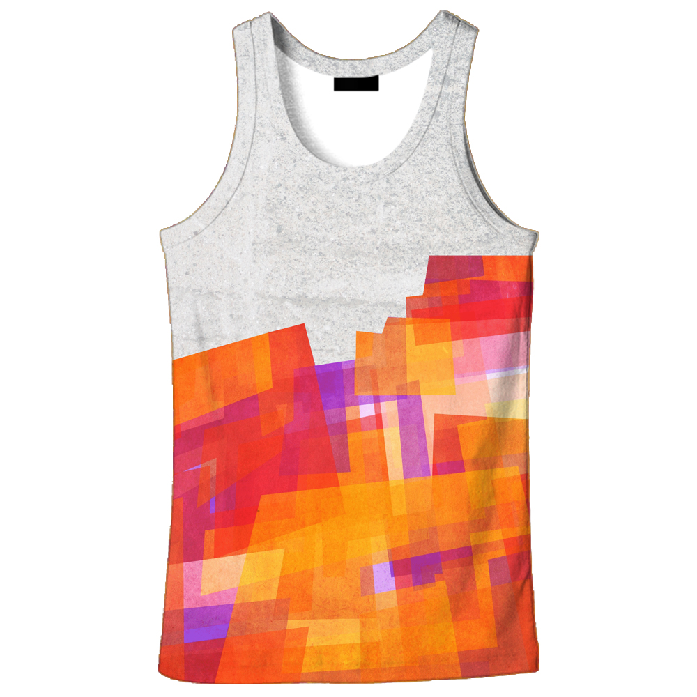 57997073efa31 2018 hot sale New fashion 3D men s mouth print 9 size casual Tanktop custom  made print free shipping-in Tank Tops from Men s Clothing on Aliexpress.com  ...