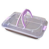 Stainless Steel rectangle portable bread baking pan/multifunction cookie cake pan mold microwave dish baguette baking tray