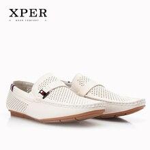 2016 XPER Hommes Mocassins Respirant Hommes Appartements de Chaussures D'été Printemps Appartements Chaussures Pour Homme Marque Sapatos Masculinos CE86803/802/807