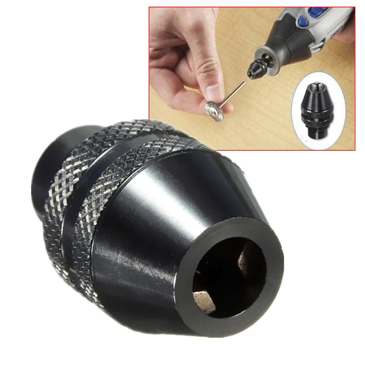 Mini Drill Keyless Chuck Multi Chuck Quick Change For Dremel For Rotary Tool For 4486 200 300 3000 4000 7700 8200