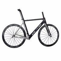 Smileteam полные углерода велосипеды T800 углерода Велоспорт фреймов 50 мм довод углерода колеса road racing углерода кадров