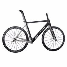 Smileteam Complete Carbon Bikes T800 Carbon Cycling Framesets 50mm Clincher Carbon wheels Racing Road Carbon Frames
