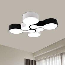 купить Creative DIY Ceiling Light Acrylic LED Home Flush Mount Lights Fashion Bedroom Living Room Ceiling Lamp Luminaria Teto lampara по цене 3391.38 рублей