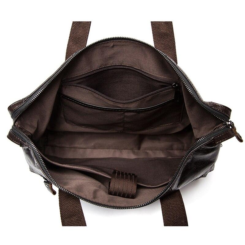 OGRAFF Messenger Çanta Erkekler Omuz Çantası Hakiki Deri Çanta - Çanta - Fotoğraf 5