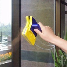 Double Sided Magnetic Window Cleaner Glass Wiper Cleaning Br