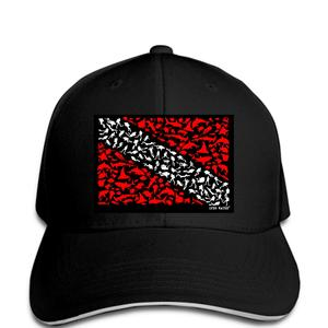 Jzecco Dive Flag Open Water Funny Mans Baseball cap