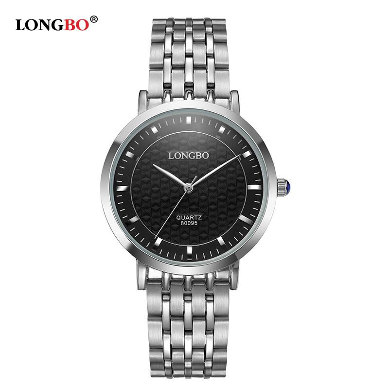 Prix pour Mode marque longbo montres femmes élégant glamour acier bracelet étanche bracelet à quartz montres femme montre femme 80095