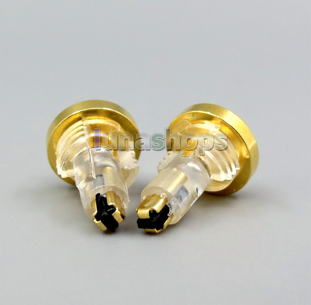 LN006273 To MMCX Female Converter Earphone Adapter For Sony MDR-EX1000 EX600 EX800 MDR-7550