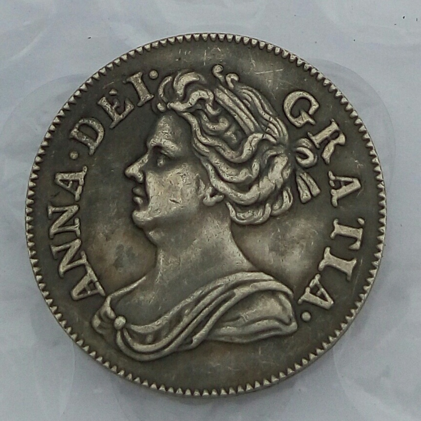 Queen Anne 4 Pence 1710 beautiful coin 301 years old