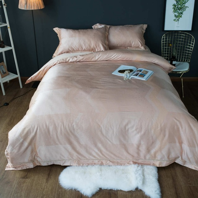 Silk Bedding Sets Bedclothes sheets Full Queen King Size 1000TC ...