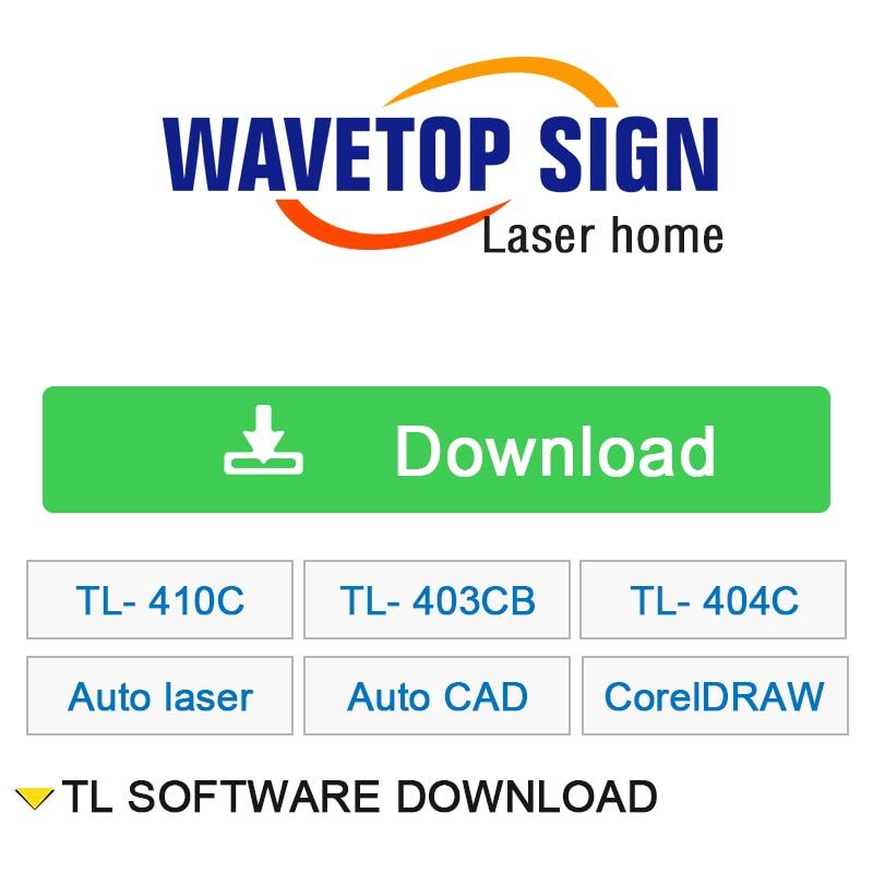 US $1 0  TL Sofware Download TL 410C TL 403CB TL 404C Autolaser AutoCAD  Plug CorelDRAW Plug 8 8 4 Software Download for Laser Machine on