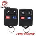 CARBOLE 2 PCS Keyless Entry Fob Chave Do Carro de Controle Remoto Clicker Transmissor Substituição fit ford Lincoln Mercury Mazda