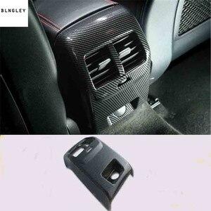 Image 4 - Cubierta de decoración Interior de fibra de carbono ABS para Ford FOCUS 4 MK4, accesorios para coche, 1 lote, 2019, Envío Gratis