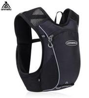 ANMEILU 2L   Running   Backpack Hydration Bag Outdoor Sport Bag Vest Super Light Cycling Climbing Camping Hiking   Running   Men Women