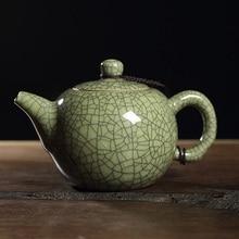 Фотография Longquan celadon porcelain teapot Kung Fu tea set Ge kiln Di Kiln