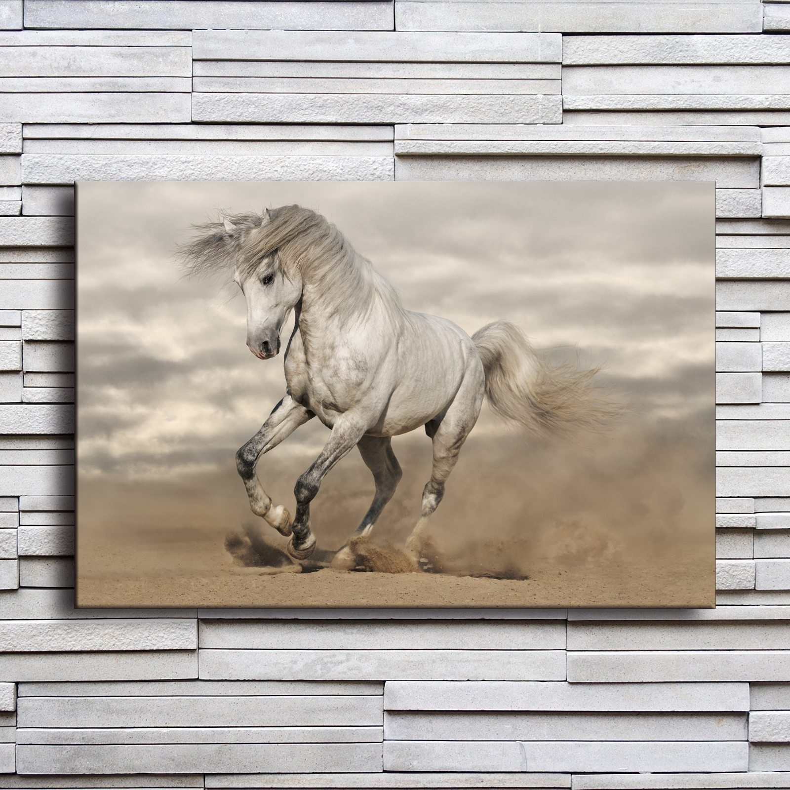 Hot sale canvas painting home decor frame 1 piece animal - Home interior horse pictures for sale ...