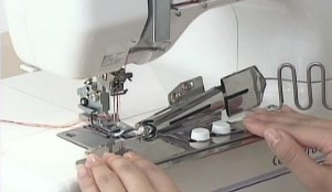 Tap Binder,Clearview Foot, SCHMETZ SYTEM EL705 #12 #14 NEDDLE ,Adjustable Seam Guide , Hemming Guide FOR JANOME 1000CPX