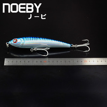 NOEBY 1 Pcs Fishing Lure 160mm/97.5g Sinking Super PENCIL Leurre Dur Peche Souple Big Sea Hard Bionic Bait VMC Treble Hooks