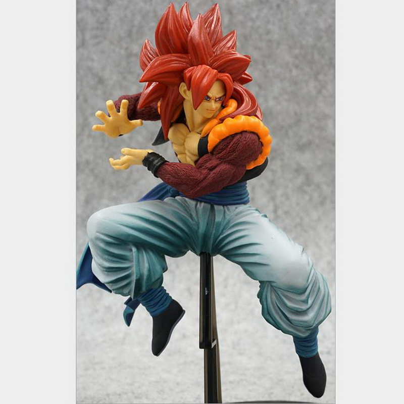19cm PVC Collectible Model Toy Dragon Ball Banpresto Figure Action Figure Scultures Big Special Staff Super Saiyan Gogeta neca marvel legends venom pvc action figure collectible model toy 7 18cm kt3137