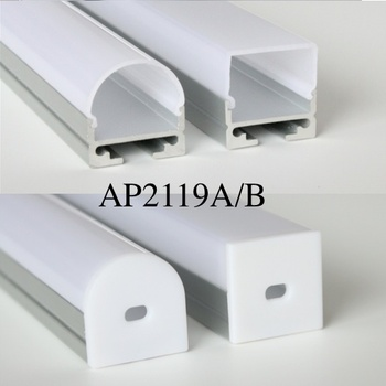 20m (20pcs) a lot, 1m per piece, Aluminum extruded profile for led strips light, aluminum led strip light housing