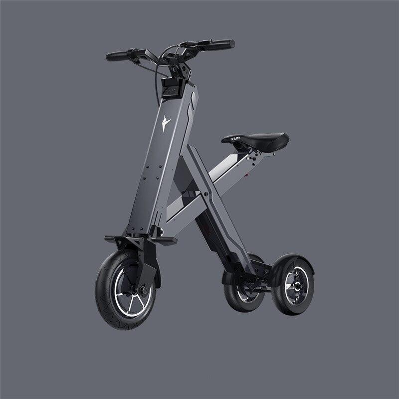 2017 X-Cape XI-CROSS PRO 50 км складной электрический скутер портативный мобильность скутер Взрослые Электрический велосипед