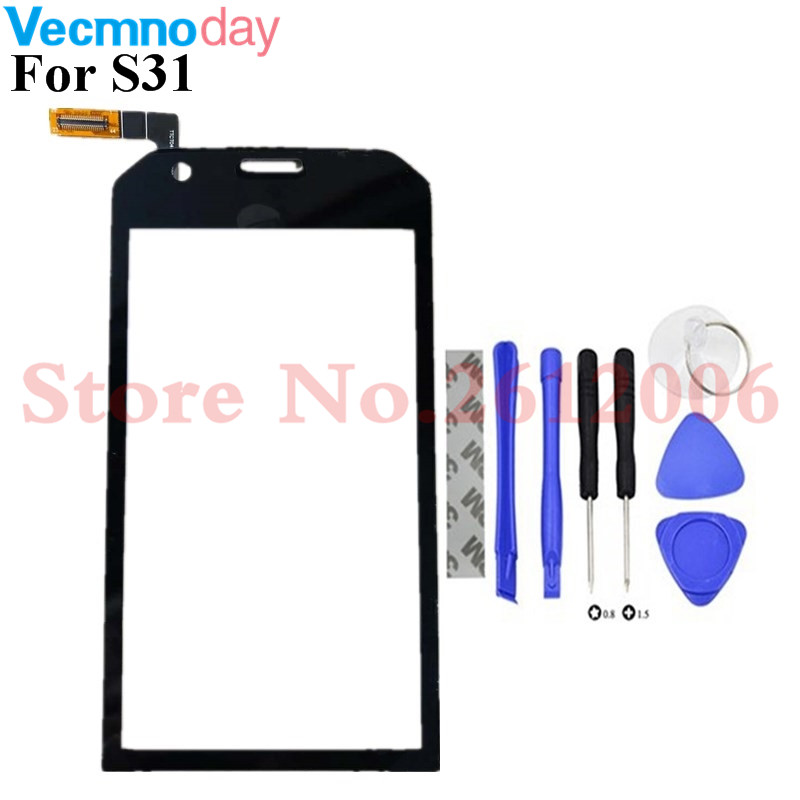 Worldwide Delivery Cat S31 Screen Glass In Adapter Of Nabara