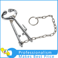 Stainless Steel Bull Nose Pliers With Chain Guide Bovine Livestock Tool With Best Price