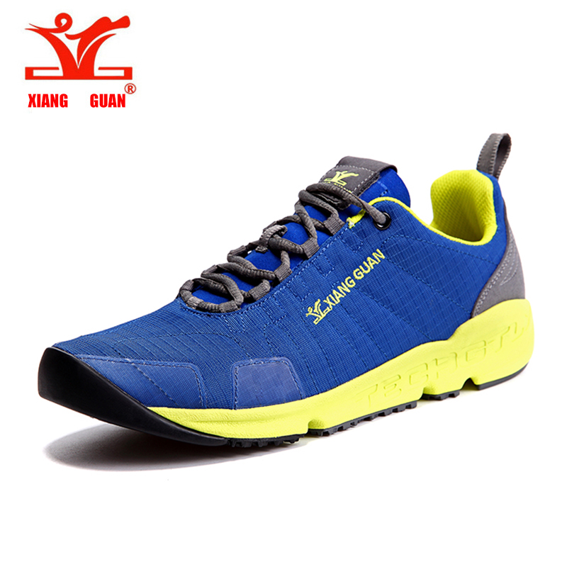 XIANGGUAN Men Trail Running Shoes Mesh Athletic Trainers Walking Breathable Man Outdoor Sports Sneakers summer size 39-45 polished chrome brass pop up bathroom sink basin waste drain without overflow wsd043