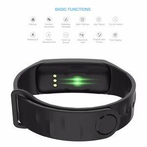 Image 4 - Smart Armband Kleur Scherm Bloeddruk Fitness Tracker Hartslagmeter Smart Band Sport Voor Android Ios Smart Polsband