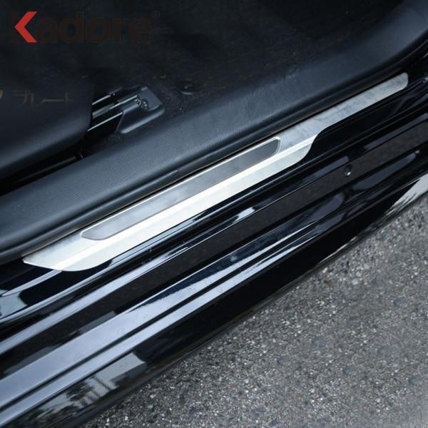 Scuff Plate Door Sill Cover Stainless For Suzuki Swift Hatchback 2018 2019