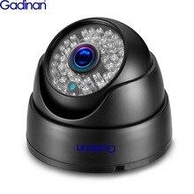 Gadinan 3MP Weitwinkel 2,8mm Objektiv CCTV Dome Anti vandal Outdoor Home P2P ONVIF 48V PoE Infrarot metall Fall IP kamera XM535AI
