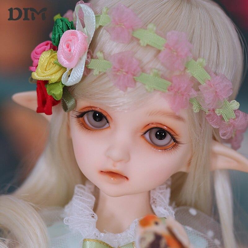 OUENEIFS Flowendoll słabe bjd sd lalki 1/4 modelu ciała dziewczyny chłopcy oczu wysokiej jakości zabawki sklep żywicy w Lalki od Zabawki i hobby na  Grupa 1