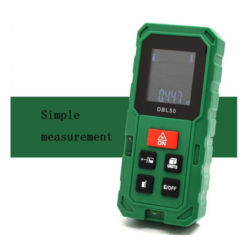 Laser Rangefinder 50M rangefinder infrared measuring instrument laser electronic rule instrument equipment ruler test tool