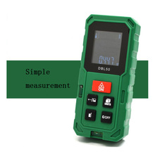 50M Laser Range Finder Digital Laser Measuring Instrument Laser Horizontal Tape Measure Instrument Scale Test Tool