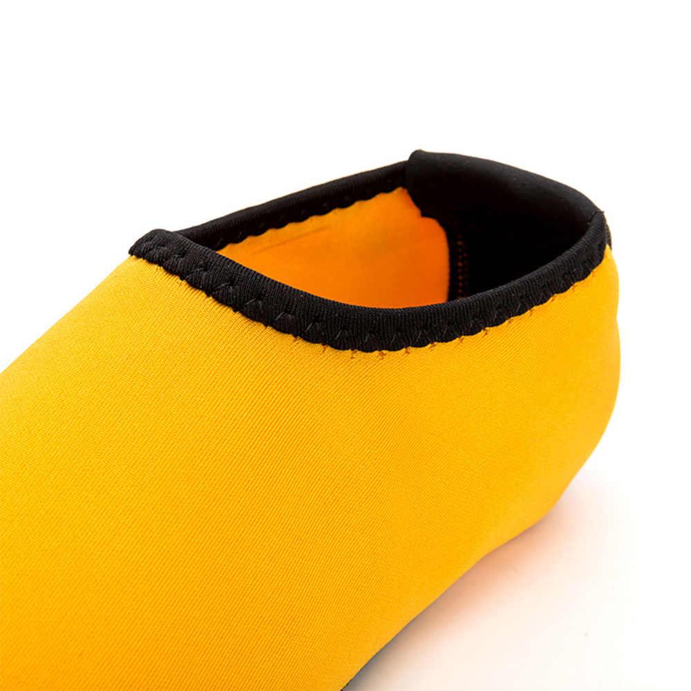 2019 รองเท้าฤดูร้อน Unisex Solid Quick Dry Anti Slip Beach ถุงเท้ารองเท้า Scuba Boot Simming ดำน้ำดูปะการังกีฬารองเท้า d40
