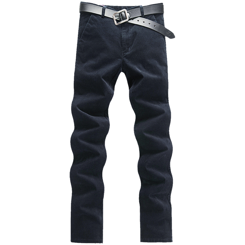 Males Garments 2019 Autumn New Males's Stretch Informal stripe Pants Enterprise Trend Stable Shade Cotton Trousers Male Model Clothes Skinny Pants, Low cost Skinny Pants, Males Garments 2019 Autumn...