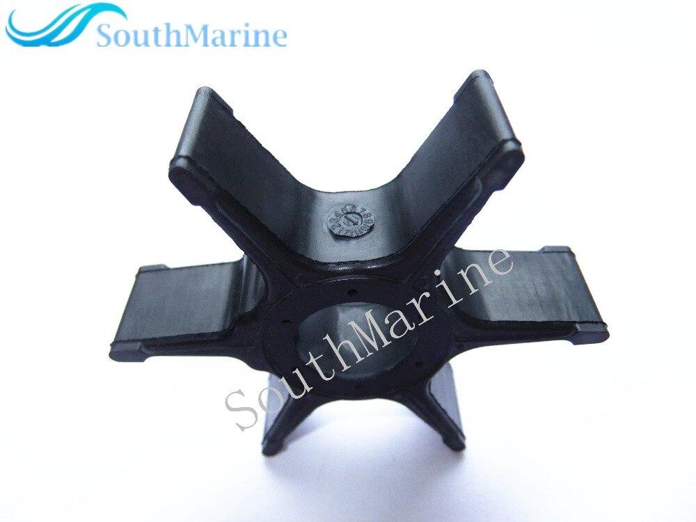 Outboard Engine Warer Pump Impeller For Suzuki 17461-96311 17461-96312 17461-96301 17461-96302 17461-96400, For Johnson 5031417
