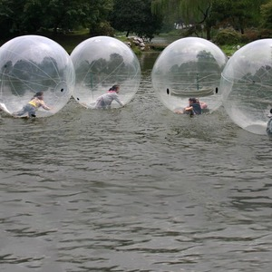 Image 5 - Jia Inf 1.3 3 M Pvc Opblaasbare Water Lopen Bal Slijtvaste Water Speelgoed Dans Bal Met Rits voor Zwembad Outdoor