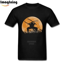 Best Roronoa Zoro Tees Moon Short Sleeve Man Man Big Size T Shirts