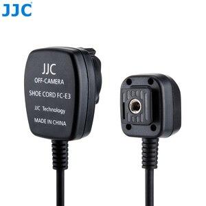 Image 4 - Jjc 1.3 m ttl 오프 dslr 카메라 플래시 코드 핫슈 동기화 원격 케이블 라이트 포커스 케이블 캐논 600ex II RT/600ex rt/430ex III RT