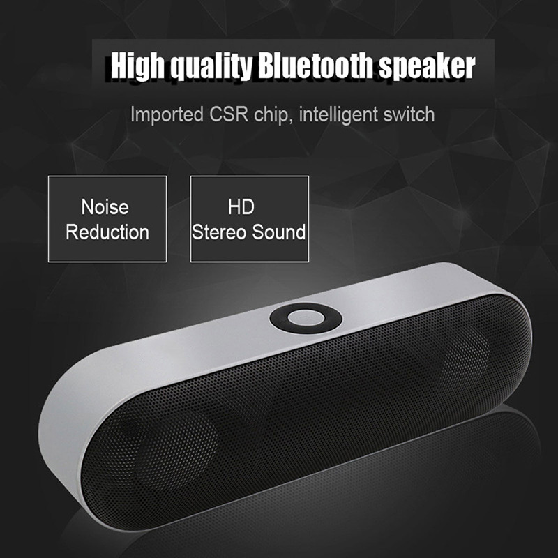 New 18 Mini Bluetooth Speaker Portable Wireless Speaker Sound System 3D Stereo Music Surround Support Bluetooth,TF AUX USB