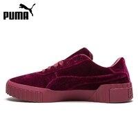 오리지널 신착 품 2019 PUMA Cali Velvet 여성용 스케이트 보드 신발 운동화